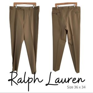 Ralph Lauren 100% Wool men's dress slacks 36 x 34